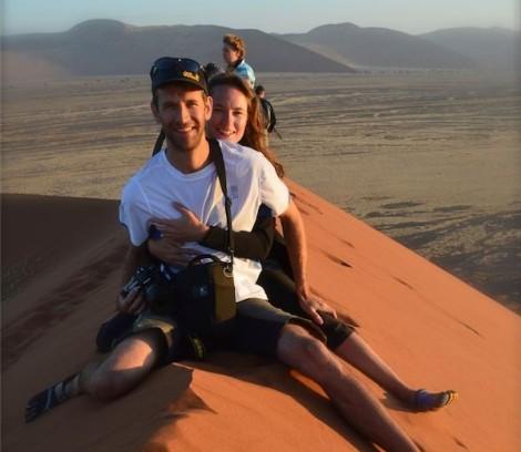 Straddling Dune 45