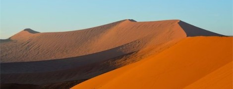 Highest dunes in the world