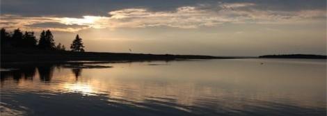 Lovely Atlantic Canada sunset