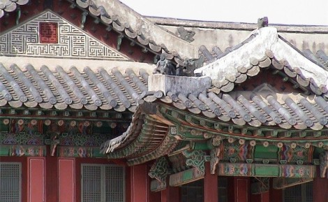 Beautiful pagoda roof - so many are well preserved