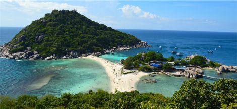 On of our dive sites - the island next door NangYuan Island