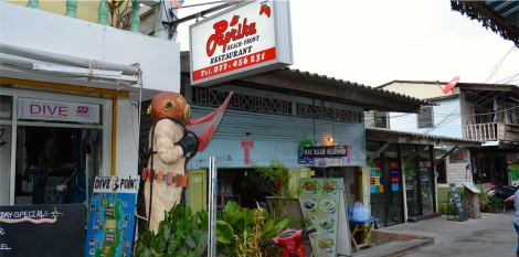 Paprika is one of my favourite restaurants on the island; they do great Thai food!