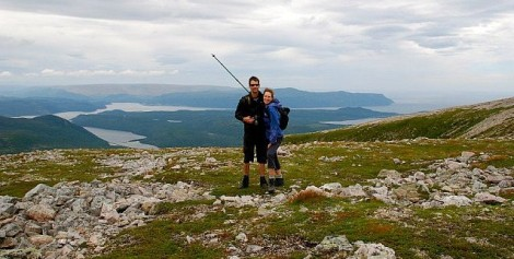 Atop Gros Morne Mountain, Newfoundland