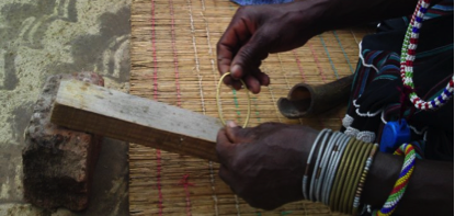 Local village making jewellery for us