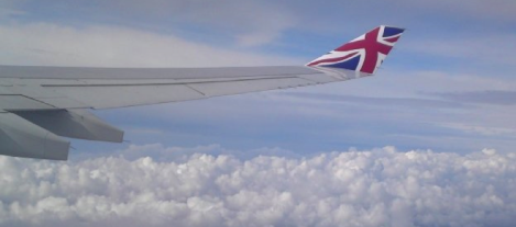 On our flight from Heathrow to Johannesburg