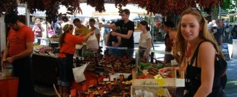 I am always in wodara browsing food markets around the world!
