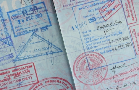 We began our international travels