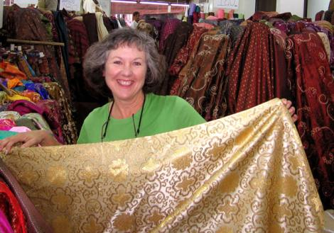 Thailand offers a wide range of Chinese silks