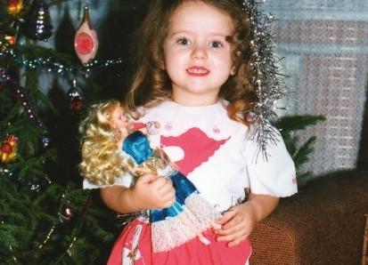 Me as a girl