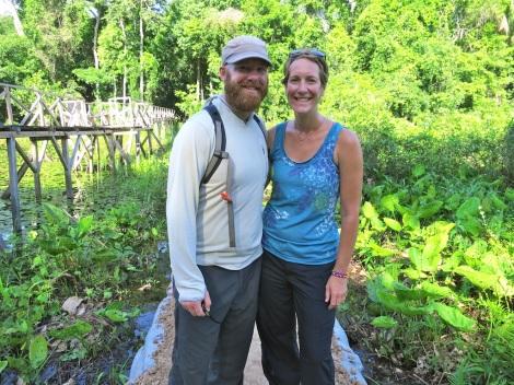 Us in the Amazon Rainforest