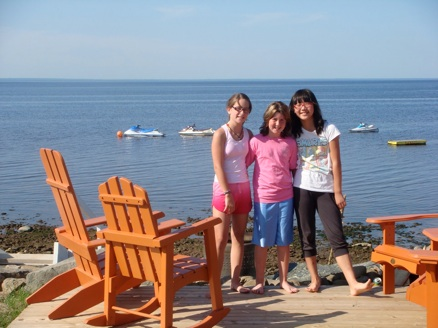 Summer in Canada with homestay friends