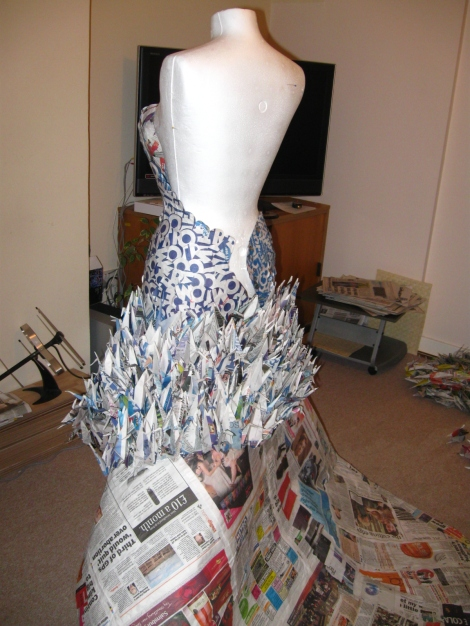 Dress in progress