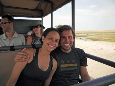 On safari in Chobe National Park, Botswana