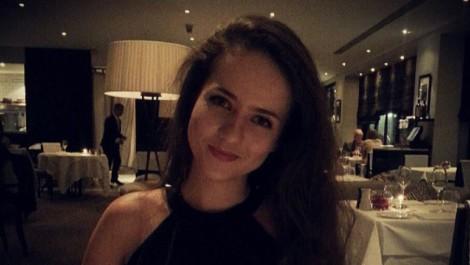 yulia at dinner