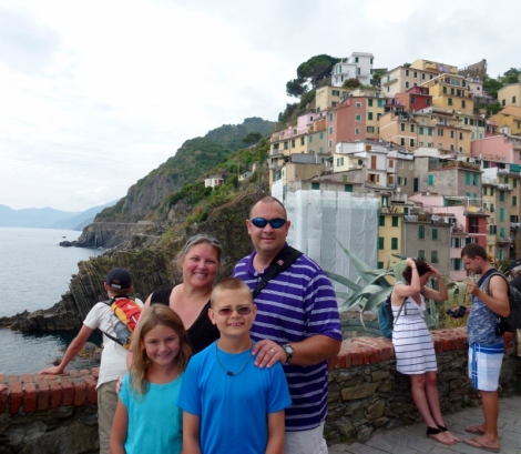 Hiking Cinque Terre in Italy