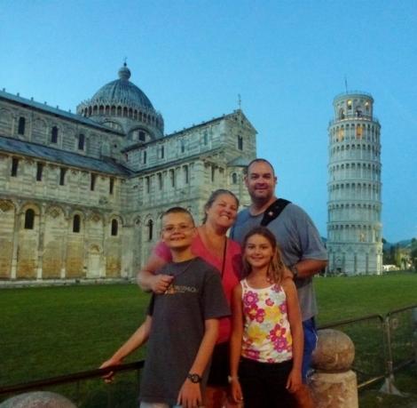 Exploring Pisa on our European Roadtrip