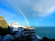 Rainbow over Almuñécar, Spain