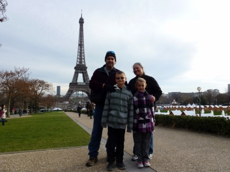 Exploring Paris for Christmas